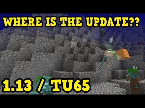 Minecraft 1.13 & TU65 Release Date (Java, PS4) Where Is It??