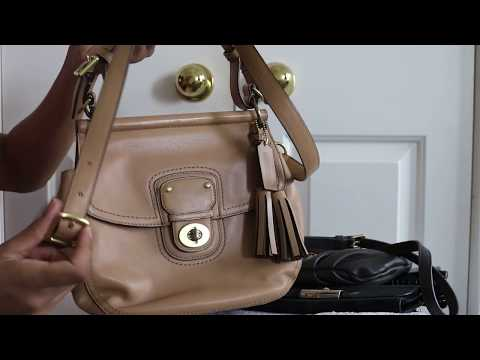Massive Clearance & Thrift Handbag Haul - Part 1: Coach, Dooney & Bourke, MBMJ