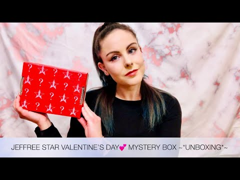 JEFFREE STAR VALENTINE'S DAY? MYSTERY BOX ~*UNBOXING*~ thumbnail