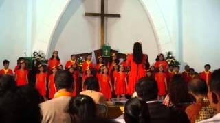 PADUAN SUARA ANAK HAZAEL, HKBP MENTENG (FESTIVAL PSA HKBP DISTRIK)