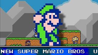 New Super Mario Bros. U Overworld 8 Bit