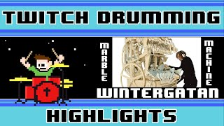 Wintergatan - Marble Machine (Blind Drum Cover) -- The8BitDrummer