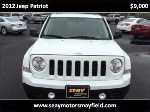 2012 jeep patriot used cars mayfield ky youtube for Seay motors mayfield ky
