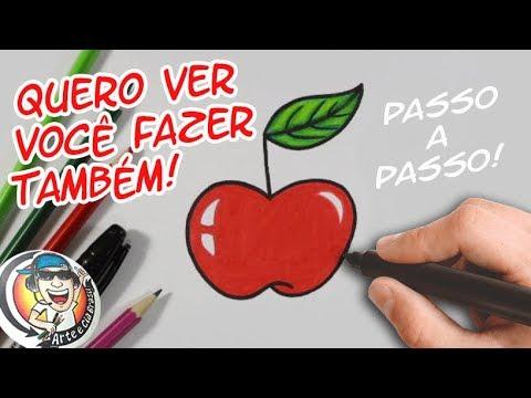 O DESENHO MAIS FÁCIL DO CANAL ARTE E CIA BRASIL - PASSO A PASSO