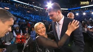 Luka Doncic Gets Emotional After Picked&Traded To Dalls Mavs!
