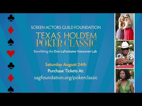 Ante Up for SAG Foundation Poker Classic