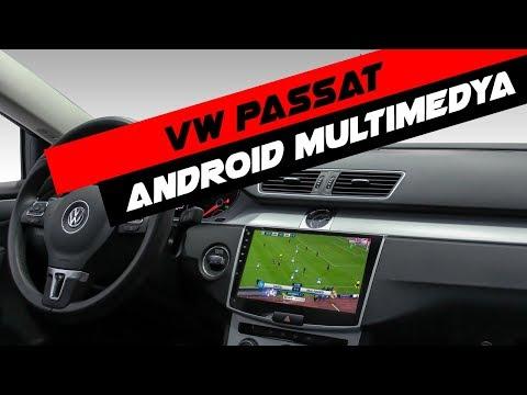 Volkswagen Passat B7 Android Multimedya Sistemi Montaj Uygulaması