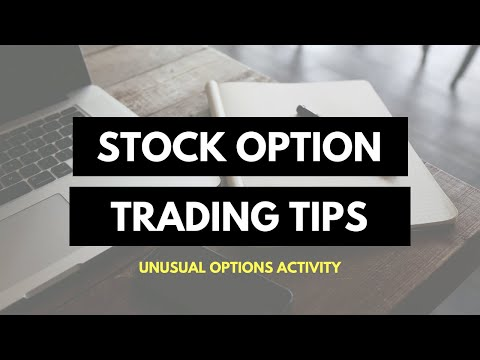 [TRADING] Option Trading Tips | Unusual Option Activity | How to Trade For Traders | ThinkorSwim