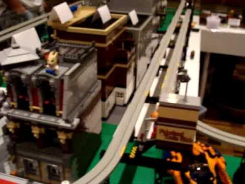 Monorail Emerald Night Train Brickworld 2009