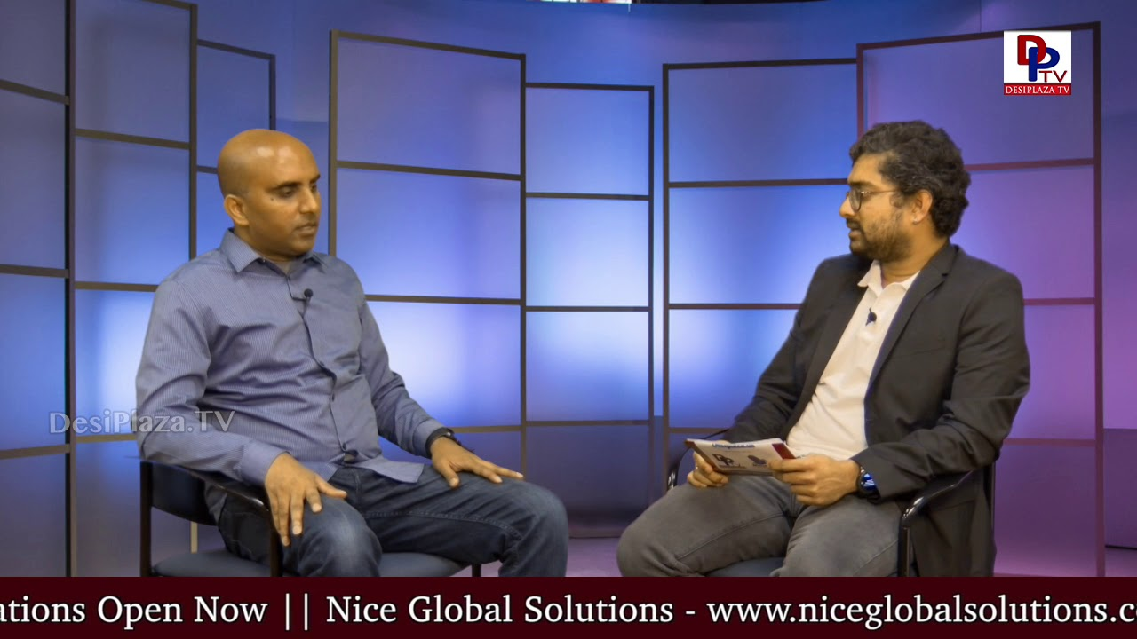 Promo - Vijay Reddy - Founder of Geospell Academy - Exclusive Interview with Desiplaza TV