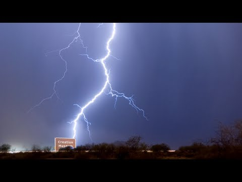 Lightning Bolt From God Hits Creation Museum Worker
