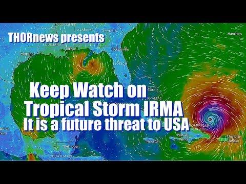 Hurricane IRMA & JOSE are future THREATS to USA Coasts & Must be closely Monitored