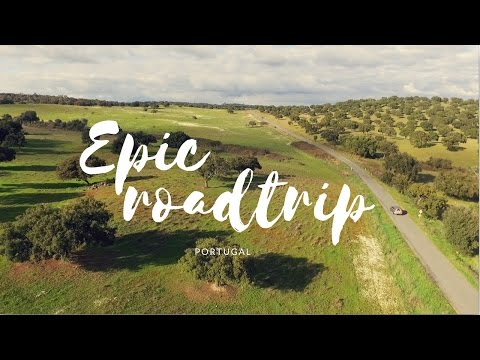 EPIC WEEKEND ROADTRIP in the south of Portugal - a cinematic travel video