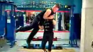 Aneta Florczyk lifting a man II