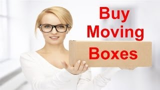 Buy Moving Boxes- Purchase Quality Boxes For Moving