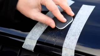 Удаление царапин с кузова с помощью Turtle Wax Scratch Repair Kit