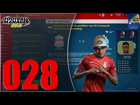 FM16 #028 - LFC - Marseille, Crystal Palace & Stoke [FHD 60FPS]