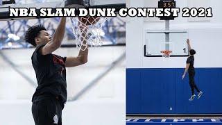 2021 NBA Dunk Contest Participant <b>Anfernee Simons</b> BEST DUNKS ...