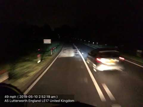 Lutterworth LE17 UK A5 South