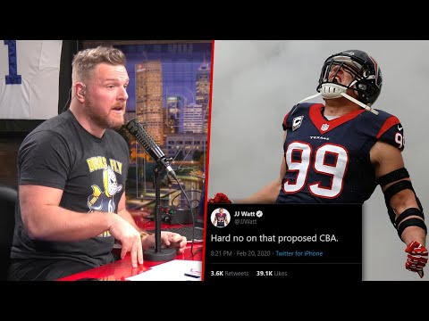 Pat McAfee Discussing Why Players Hate The Proposed CBA
