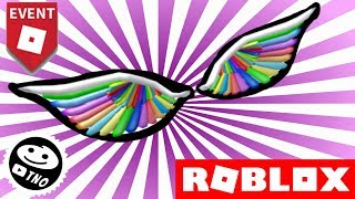 FREE Rainbow WINGS-RAINBOW WINGS-Roblox Imagination Event | Make a Cake: Back for Seconds!