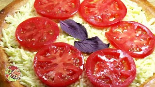 Пицца Маргарита по - таджикски. Просто, вкусно, недорого.
