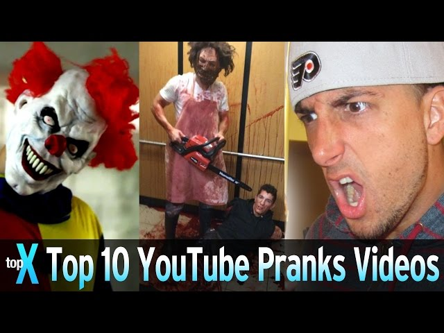 Top 10 YouTube Prank Videos – TopX Ep.37