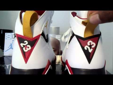 new product a88b7 0a136 2006 vs. 2011 Jordan Cardinal 7 Comparison - YouTube
