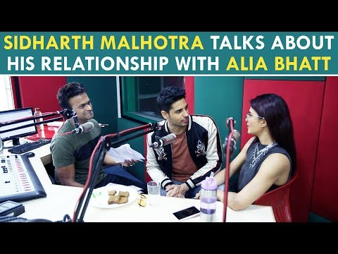 Sidharth Malhotra Talks About  his relationship With Alia Bhatt Part2