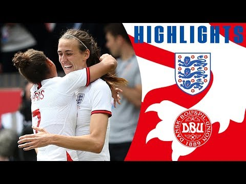 England 2-0 Denmark | Clinical Display Earns Lionesses Win | Lionesses