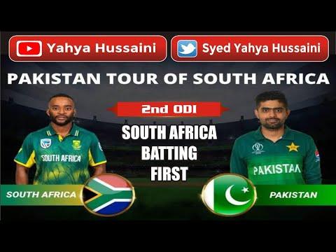 Syed Yahya Hussaini: South Africa batting first scored 341/6| Bavuma 92 Miller's 27 balls fifty.| Yahya Hussaini |