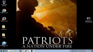 Descargar e Instalar Patriots A Nation Under Fire Full ISO en español