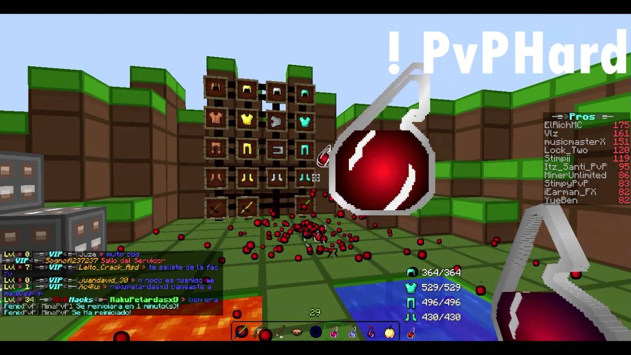 Top 5 Texture Pack PvP Para Minecraft 1.5.2 #15 - YouTube