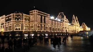 Москва вечерняя предновогодняя