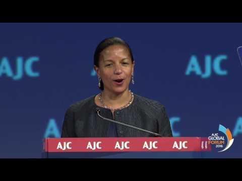 U.S. National Security Advisor Susan Rice