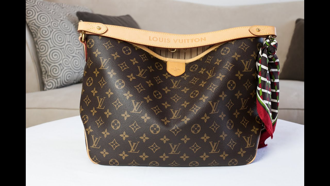 Louis Vuitton Delightful PM Review - YouTube 56fc1fe4576b1