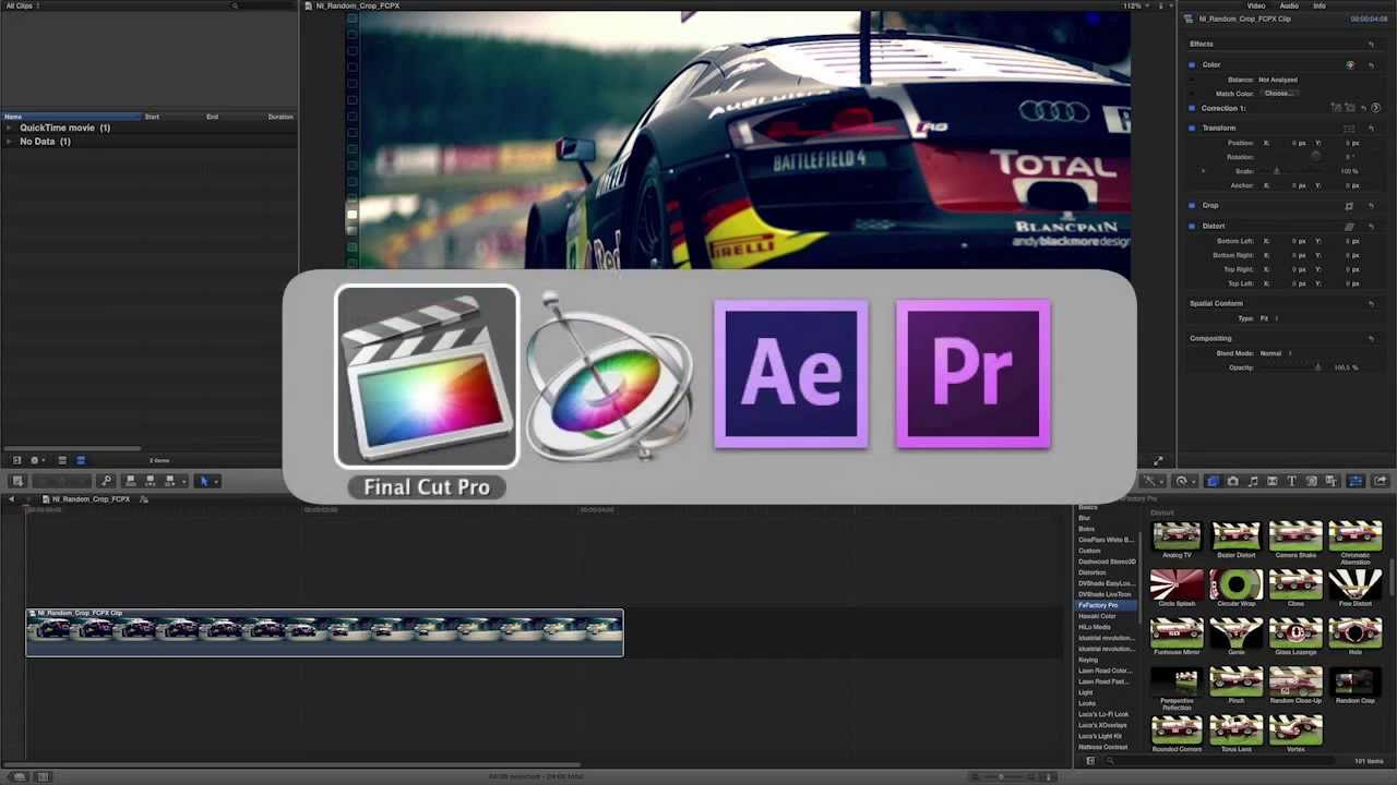 Random Crop Effect for Final Cut Pro, Premiere Pro, Motion and AE - YouTube