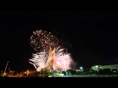 عيد الاستقلال بعاصمة الجزائر - Fête de l'indépendance, la capitale de l'Algérie