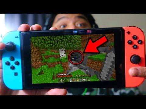 Finding Herobrine in Minecraft Switch Edition (Part 1)