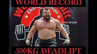 eddie hall world record 500kg deadlift giants live leeds 2016