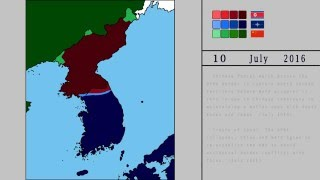 The Second Korean War [Alternate Future] The Road to World War 3