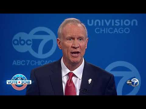ABC Chicago Debate: JB Pritzker is Cheating on His Taxes | Bruce Rauner | Illinois
