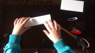 Видео уроки от Елисея Радуги. Пистолет из бумаги