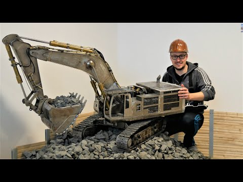 XXL 180kg RC Modell Bagger - Harter Tag Auf Der RC Baustelle / Hard Day At The RC Construction Site