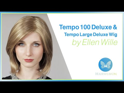 Tempo 100 Deluxe & Tempo Large Deluxe Wig by Ellen Wille