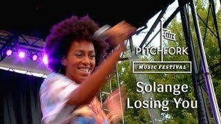 "Solange - ""LosingYou"" Pitchfork Music Festival 2013"