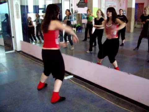 Урок пластики. Сальса. Школа танцев Киев Латино.
