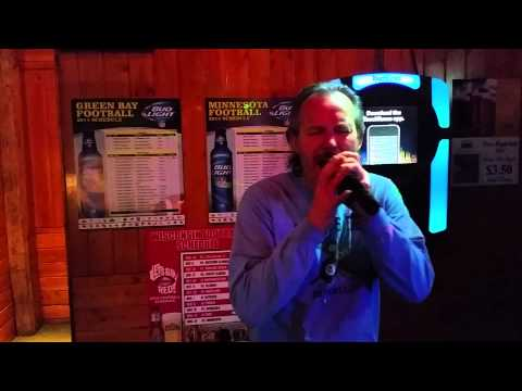 Tom Gibson singing karaoke to The Final Countdown by Europe