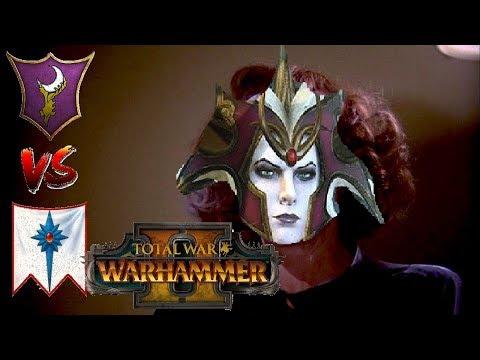 Dark Elves vs High Elves | MORATHI DEAREST : Total War Warhammer 2