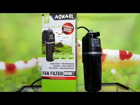 AQUAEL FAN FILTER MINI PLUS - Отличный фильтр для небольшого аквариума
